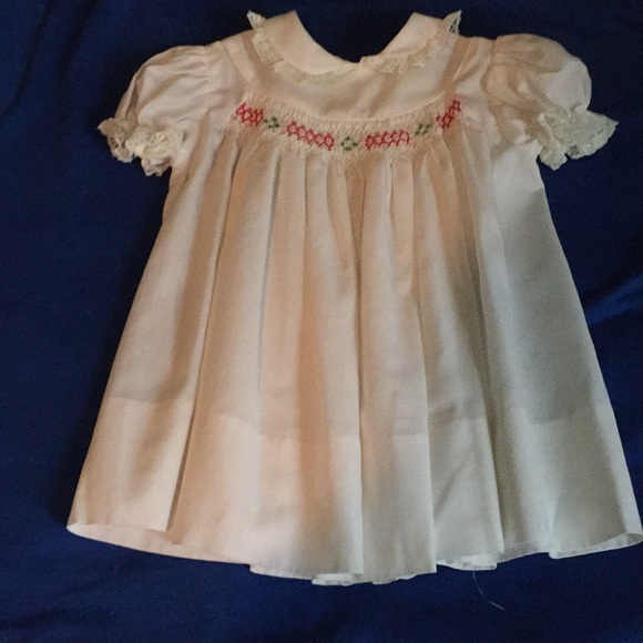 6f042d884ec Polly Flinders Dresses | Vintage Smocked Baby Dress | Poshmark